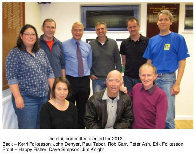 Club Committee Photo