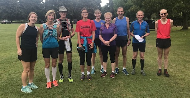 Penshurst trail runners