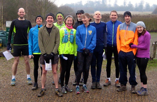 Lullingstone trail runners